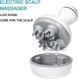 Hair Scalp Massager, DEDAKJ Electric Handheld Shampoo Brush Head Massager for Face, Hand, Arm, Neck, Foot and Body, IPX7 Waterproof