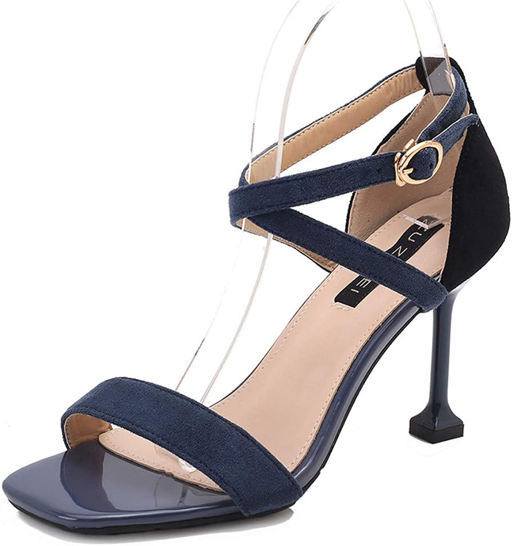Top Shishang bluee Women's Ankle Strap Platform Pump Party Dress High Heel