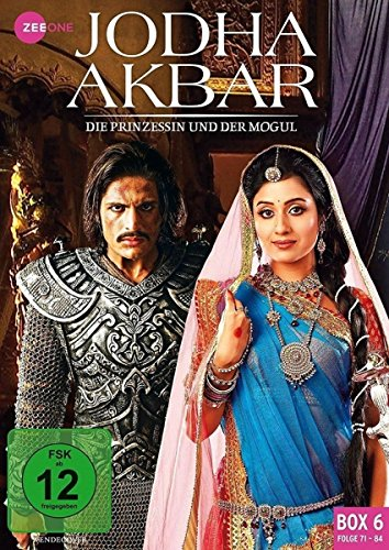 Jodha Akbar - Die Prinzessin und der Mogul (Box 6, Folge 71-84) [3 DVDs]
