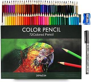 Colored Pencils, FengYue - 74pcs Pro Wooden Artist Drawing Pencils, School Watercolors Coloring, Sketching Pencil Set, Gif...