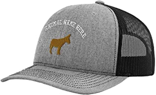 Custom Richardson Running Cap Triquetra Embroidery Church Name Polyester Hat