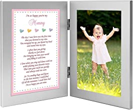 Baby Girl Frame for Mommy, Sweet Words for Mom - Add Photo
