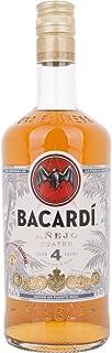 Bacardi 4 Añejo Cuatro Gold Rum 40,00% 0,70 Liter