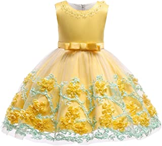 mes amis Flower Girl Dress for Pageant Party Age 3M-9T