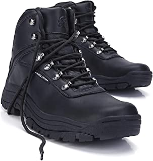 Mens Hiking Boots Trail Mid Waterproof Ankle Boot for Outdoor Backpacking Trekking