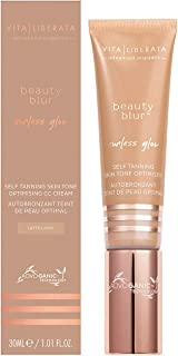 Vita Liberata Beauty Blur Sunless Glow Cc Cream Tinted Moisturizer HD Primer Skin Finish Self Tanne