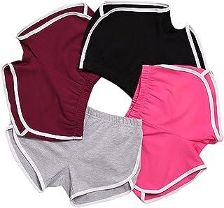Mango Tree with Colour Trimmed edges Women's Sport Shorts Retro Shorts Active Yoga Shorts