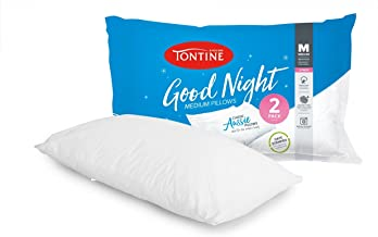 Tontine T2889 Good Night Classic Pillow 2 Pack, Medium