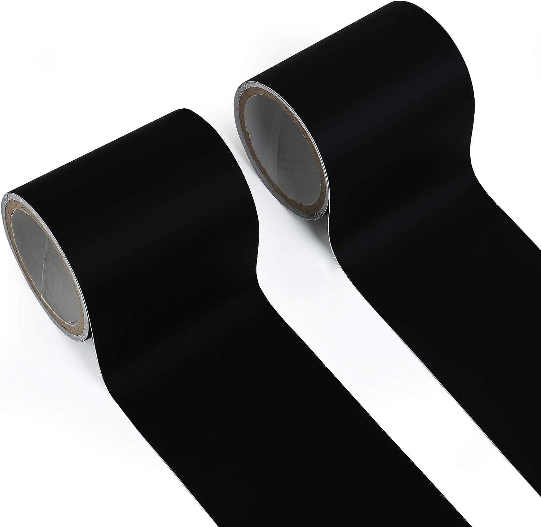 LEMESO 2 Rolls 2.3inch x 4.9ft Nylon Repair Patches, Self Adhesi