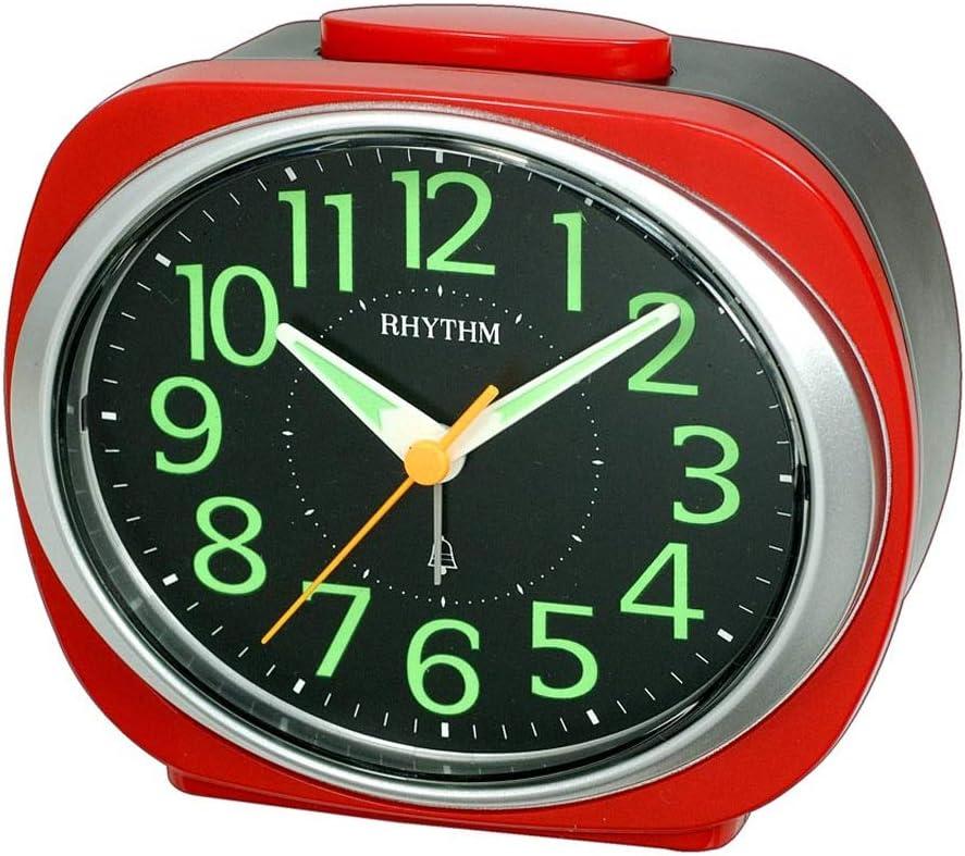 Save Sale price money ZLBYB Alarm Clock Roman Numerals Bedside Silent Cloc Table