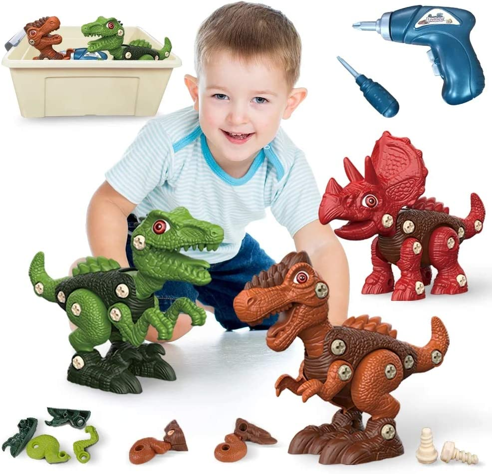 Animer and price revision YSD Take Apart Dinosaur Toys for Our shop most popular Kids 6 Years an 3-5 7+ Old Boys