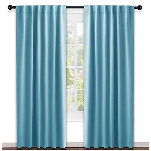 Turquoise Bedroom Curtains: Amazon.com
