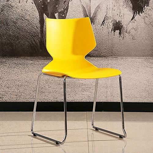 GRF Freizeit Tisch Und Stühle Esszimmerstuhl Einfache Mode Kunststoffstuhl Kreative Rückenlehne Stuhl