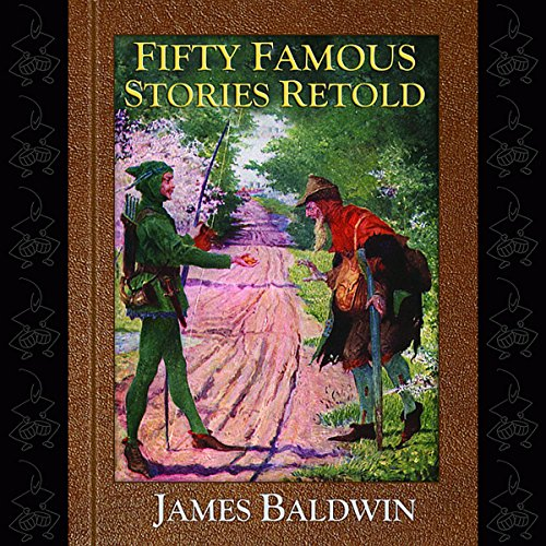 Fifty Famous Stories Retold audiobook cover art