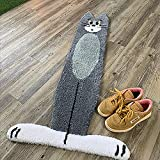 Cartoon Cat Rug for Stairs, Tom and Jerry Rug, Cartoon Cat Mat Plush Rug, Home Decor Indoor Outdoor Kids Room (??)