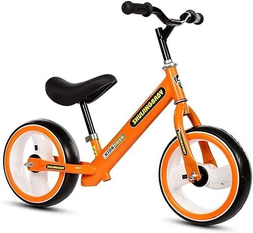 precios ultra bajos Bicicleta de de de Equilibrio Niños y Niños pequeños Bicicletas con Equilibrio de 12 con neumáticos Ligeros, Libres de Aire Manillar Antideslizante Asiento Ajustable Sin Pedal Empuje y camine Entrenamiento  40% de descuento