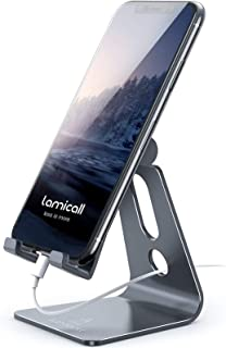 Lamicall Adjustable Phone Stand For Desk Gray FBA_A-Stand G