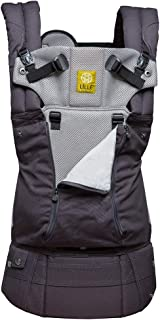 LÍLLÉbaby The Complete All Seasons SIX-Position, 360° Ergonomic Baby & Child Carrier, Charcoal/Silver - Cotton