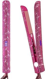 Diamond Hair Straightener Flat Iron, Dual Voltage Straightening Iron, VITI Pro Titanium 1