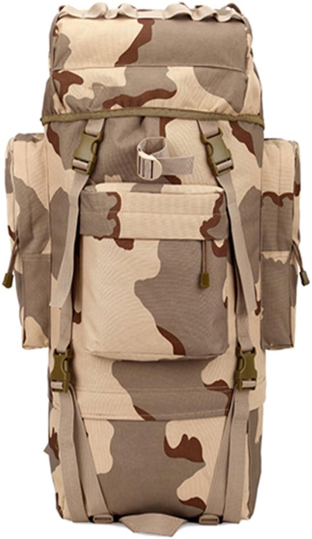 DFHHG® Army Fans Outdoor Schultern Rucksäcke Walking Taschen Multifunktions-Laptop-Tasche 65L Wasserdicht Taktik Rucksack B06XKQVPN8  Hervorragende Funktion