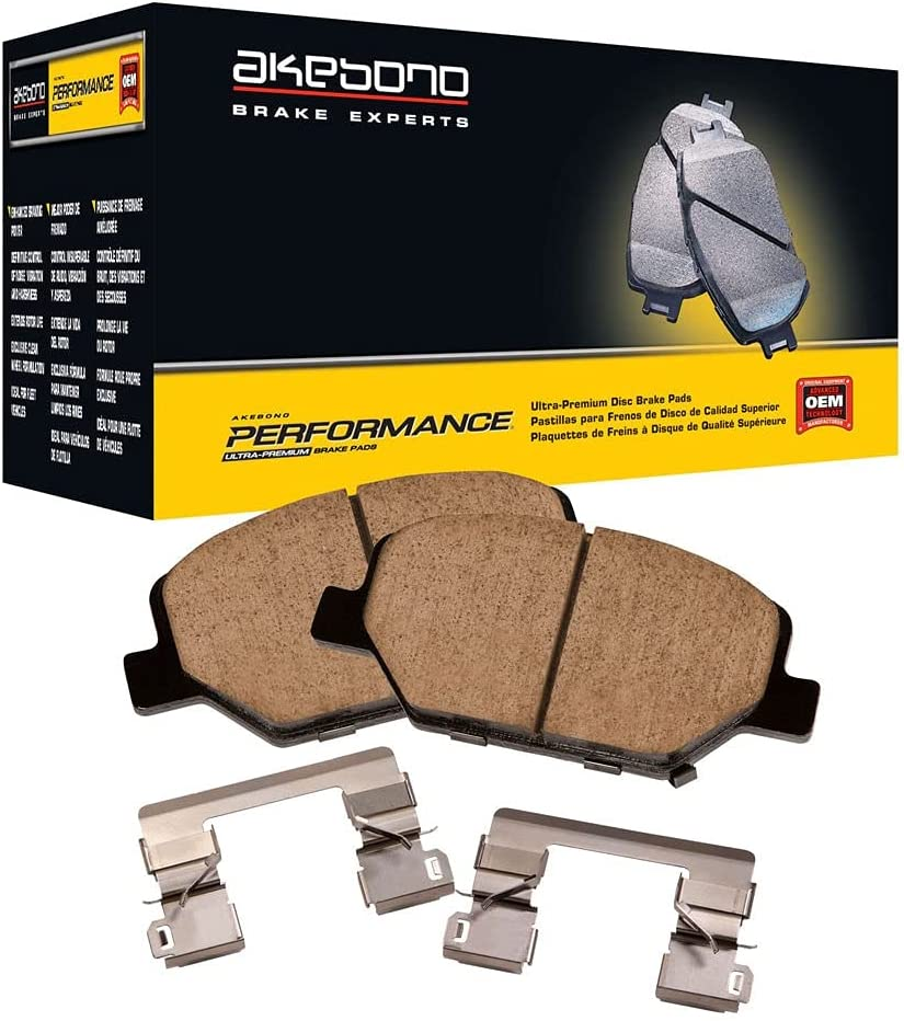 Akebono Some reservation Save money ASP784 Performance Ultra Premium Pad Ceramic Brake Disc