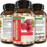 California Products Pure Raspberry Ketones Supplement Natural Fat Burner and Appetite Suppressant Boosts Metabolism and...