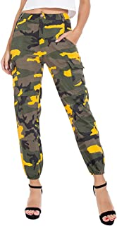 juniors camo cargo pants