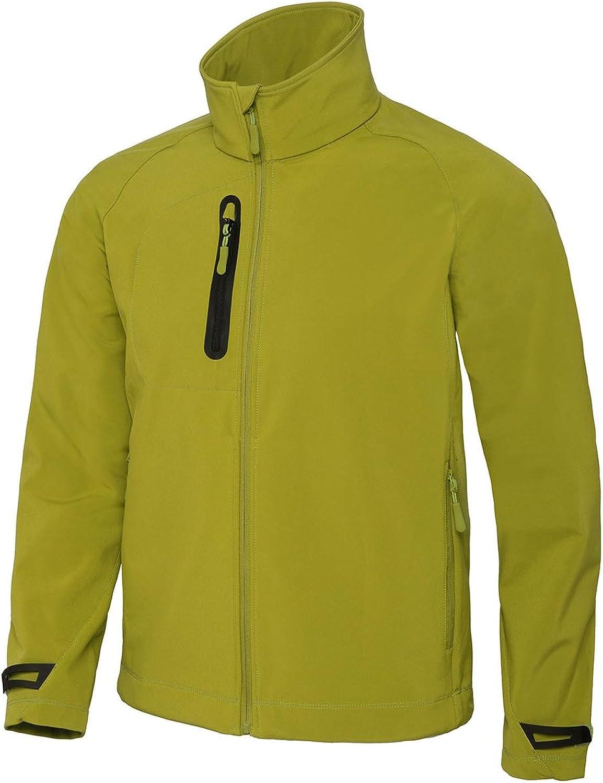 B&C Mens X-Lite 3 Layer Softshell Performance Jacket