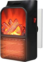 AZHLUF Calefactor de Enchufe, Mini Calefactor Eléctrico, Termoventilador Calefactor Portatil, con Termostato Ajustable, for Hogar y Oficina
