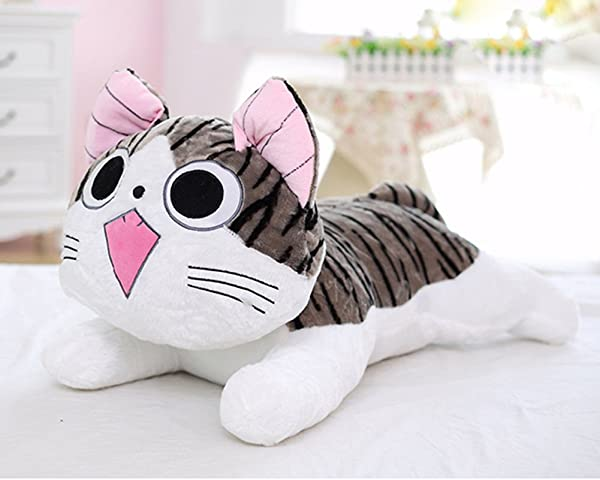 Super Cute Chi S Sweet Home Cat Plush Waist Pillow Plush Toy Doll 40cm 02