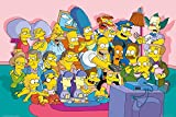 GB Eye 61 x 91,5 cm The Simpsons Sofa Cast Maxi-Poster,