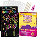 2-Pack Pigipigi Rainbow Scratch Paper for Kids