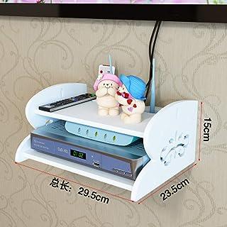 BBGSFDC Sala de TV Flotante Gabinete, Unidad de Montaje en Pared Entretenimiento, Blanca Regalo-A (Size : A)