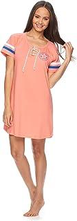 Womens Nightgown Lounge Pajama Dorm Sleepwear Shirt