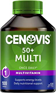 Cenovis 50+ Multi - All-in-one multivitamin - Daily nutritional support for people 50 years and over, 100 Capsules