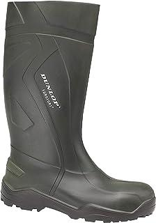 Dunlop Purofort+ Wellington Green Size 36