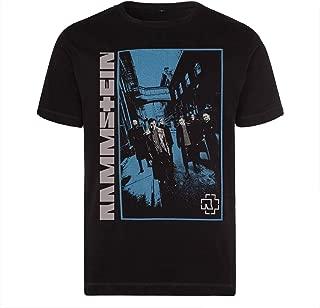 Ramm Stein Symbol Great Men's Fitness Printed Rammst Camouflage T-Shirt t Shirt