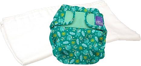 Bambino Mio, mioduo Two-Piece Cloth Diaper, Hummingbird, Size 1 (<21lbs)