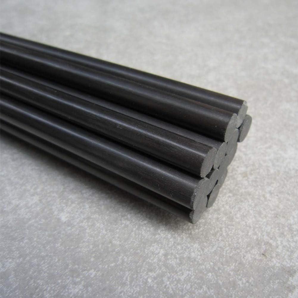 2PCS Bar Matte Pole for RC Model Car//Boats Connecting,Diameter 1.5mm AFexm 100/% Pure Carbon Fiber Rods Solid