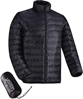 feather down jacket men's