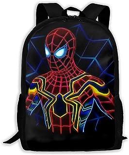 Custom Spiderman Casual Backpack School Bag Travel Daypack Gift