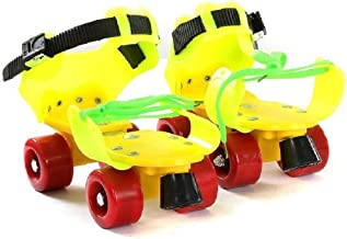 TechToy Dry Skates for Kids with Front Breaks (Colour May Vary)(Size- 4 to 12 Years)