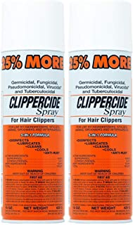 Clippercide Disinfectant Spray 15 Ounce Size (354ml) (2 Pack)