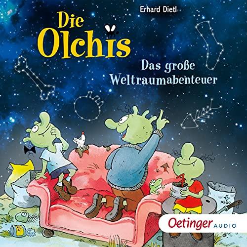 Die Olchis - Das große Weltraumabenteuer cover art