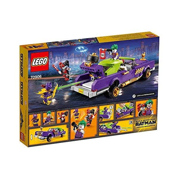 Lego The Batman Movie The Joker Notorious Lowrider Building Set 70906 5