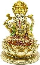 BangBangDa Hindu Ganpati Lord Murti Mandir - Indian Diwali Gifts Ganesha Statue - India Ganpati Murti Pooja Item