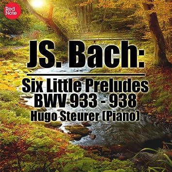 Bach: Six Little Preludes, BWV 933 - 938