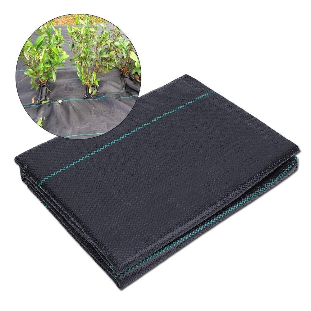Famus Tela de Suelo de jardín, Tela de Control de malezas de Permeabilidad al Agua Agricultura Paisaje Cubierta de Suelo para Flores Plantas Parque de pastizales(2 * 5 米): Amazon.es: Jardín
