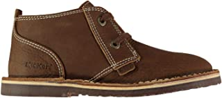 Official Brand Kickers Adlar Desert Boots Childs Boys Brown Shoes Boot Kids Footwear