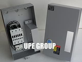 WEG 15HP 3 PHASE MAGNETIC STARTER FOR ELECTRIC MOTOR AIR COMRPESSOR 15HP 3 PHASE 230V 50 AMP